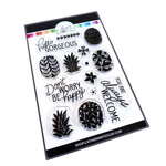 Catherine Pooler Designs - For My Crew Collection - Clear Photopolymer Stamps - Preppy Pineapple