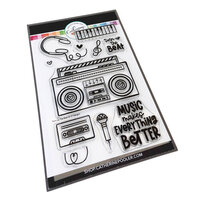 Catherine Pooler Designs - Clear Photopolymer Stamps - Turn Up the Beat