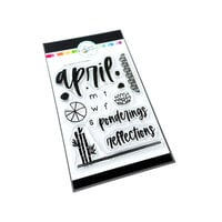 Catherine Pooler Designs - Clear Photopolymer Stamps - April Reflections
