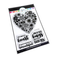 Catherine Pooler Designs - Clear Photopolymer Stamps - In My Heart