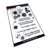Catherine Pooler Designs - Clear Photopolymer Stamps - Blossoms and Thoughts