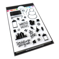 Catherine Pooler Designs - Christmas - Clear Photopolymer Stamps - Warm My Heart