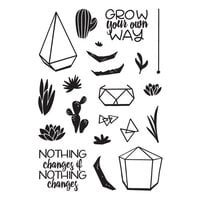 Catherine Pooler Designs - Clear Photopolymer Stamps - Build-a-Terrarium