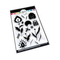Catherine Pooler Designs - Clear Photopolymer Stamps - Damask Floral