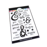 Catherine Pooler Designs - Clear Photopolymer Stamps - Furthermore