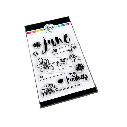 Catherine Pooler Designs - Clear Photopolymer Stamps - June Acts