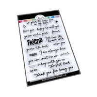 Catherine Pooler Designs - Clear Photopolymer Stamps - Best Kind Of Friends Sentiments