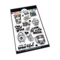 Catherine Pooler Designs - Clear Photopolymer Stamps - Life Is Brew-tiful