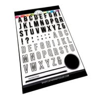 Catherine Pooler Designs - Clear Photopolymer Stamps - Simple Alphabet