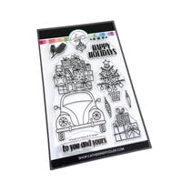 Catherine Pooler Designs - Christmas - Urban Holiday Collection - Clear Photopolymer Stamps - Wrapped and Ready