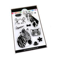 Catherine Pooler Designs - On Safari Collection - Clear Photopolymer Stamps - Take a Peek
