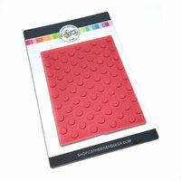 Catherine Pooler Designs - Cling Mounted Rubber Stamp - Doin' the Polka Background