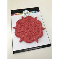 Catherine Pooler Designs - Cling Mounted Rubber Stamp Set - Sandy Background Stamp