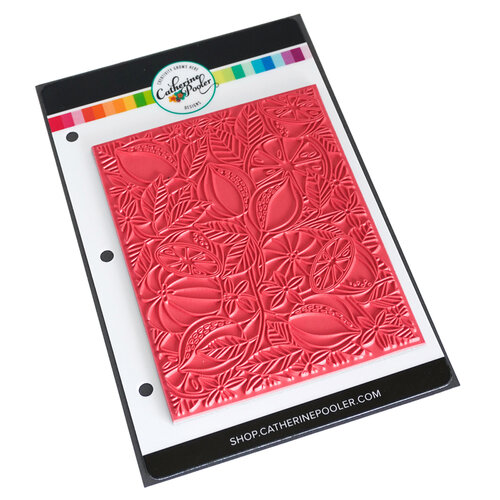 Catherine Pooler Designs - Forever 13 Collection - Unmounted Cling Rubber Stamps - Fresh Squeezed Background