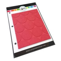 Catherine Pooler Designs - Cling Mounted Rubber Stamps - Dotted Bursts Background