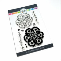 Catherine Pooler Designs - Clear Photopolymer Stamps - Wild Bloom