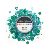 Catherine Pooler Designs - Anchors Away Collection - Sequin Mix - Big Sur