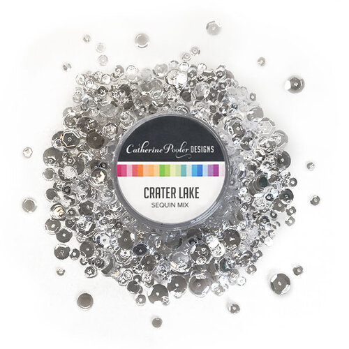 Catherine Pooler Designs - Sequin Mix - Crater Lake