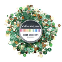 Catherine Pooler Designs - Sequin Mix - Green Mountains