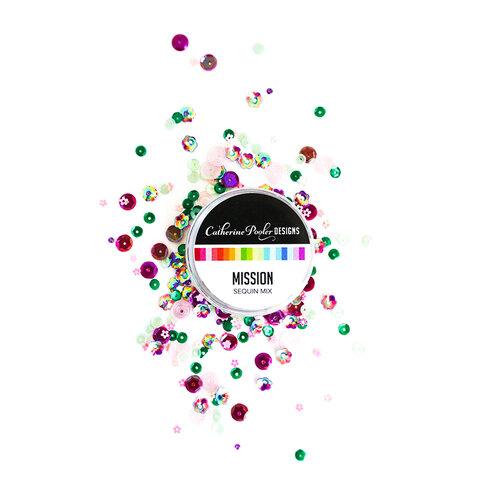 Catherine Pooler Designs - Flutters Collection - Sequins Mix - Mission