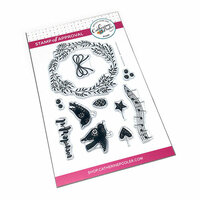 Catherine Pooler Designs - Christmas - Clear Photopolymer Stamps - Wonderful Wreath