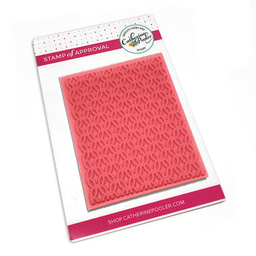 Catherine Pooler Designs - Cling Mounted Rubber Stamp - Lovely Lattice Background