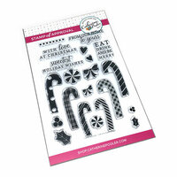 Catherine Pooler Designs - Christmas - Clear Photopolymer Stamps - Candy Cane Lane