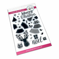 Catherine Pooler Designs - Clear Photopolymer Stamps - Hip Holidays