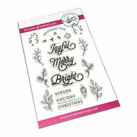 Catherine Pooler Designs - Christmas - Clear Photopolymer Stamps - Merry And Bright Boughs
