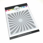 Catherine Pooler Designs - Stencil - Twisted Sunburst