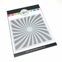 Catherine Pooler Designs - Stencil - Twisted Sunburst