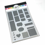 Catherine Pooler Designs - Stencil - Calendar And Boxes