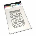 Catherine Pooler Designs - Stencil - Mood Jar