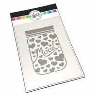 Catherine Pooler Designs - Stencil - Mood Jar