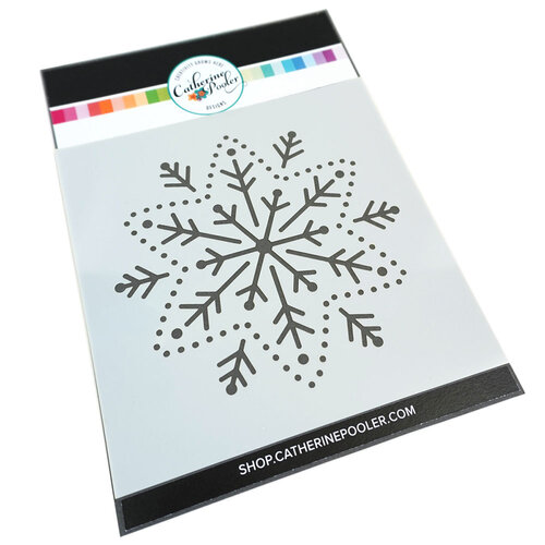 Catherine Pooler Designs - Stencils - Embroidered Snowflake