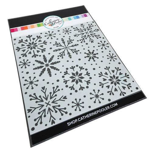 Catherine Pooler Designs - Stencils - Snowfall