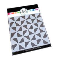 Catherine Pooler Designs - Boho Fall Collection - Stencils - Pinwheel