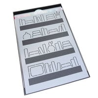 Catherine Pooler Designs - Stencils - Bookshelf