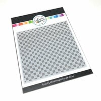 Catherine Pooler Designs - Stencil - Checkerboard