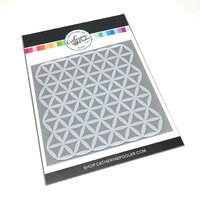 Catherine Pooler Designs - Stencil - Mod Flower