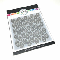 Catherine Pooler Designs - Stencil - Marching Leaves
