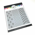 Catherine Pooler Designs - Stencil - GeoTrio