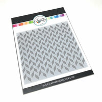 Catherine Pooler Designs - Stencil - Split Chevron