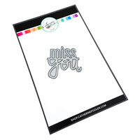 Catherine Pooler Designs - Out West Collection - Dies - Miss You Word