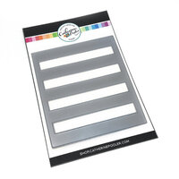 Catherine Pooler Designs - Anchors Away Collection - Dies - Horizontal Stripe Cover Plate