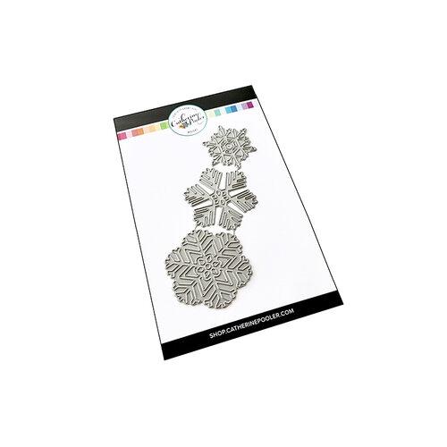 Catherine Pooler Designs - Winter Collection - Dies - Snowflake Trio