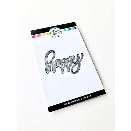 Catherine Pooler Designs - Dies - Happy Word