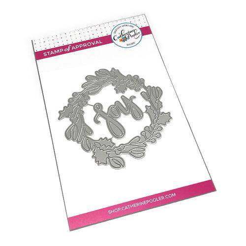 Catherine Pooler Designs - Dies - Joy Wreath
