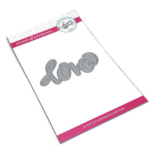 Catherine Pooler Designs - Dies - Love