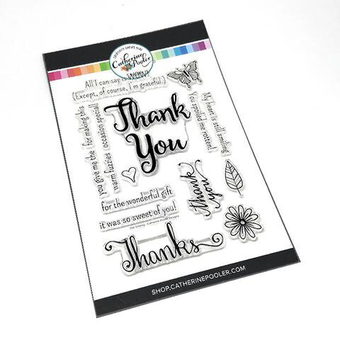 Catherine Pooler Designs - Clear Photopolymer Stamps - Still Smiling